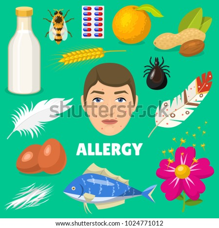 Fish allergy stock images royalty free images vectors for Allergic reaction to fish