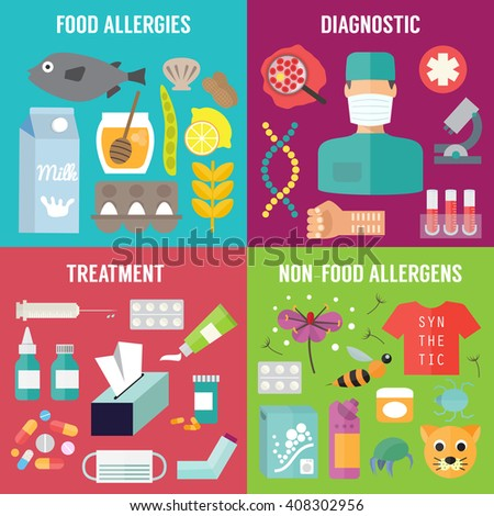 Food allergy stock images royalty free images vectors for Fish allergy home remedy