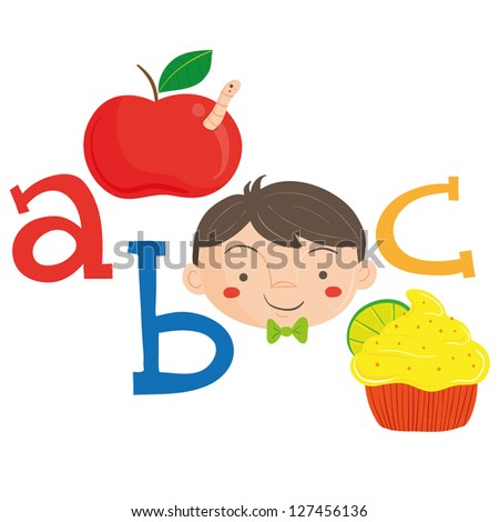 Alphabet ABC - stock vector