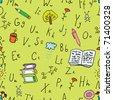 Alphabet background - stock vector