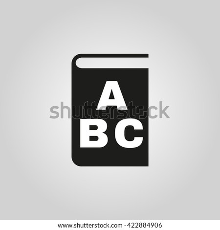 Alphabet icon. vector design. Library and ABC symbol. web. graphic. JPG. AI. app. logo. object. flat. image. sign. eps. art. picture - stock vector - stock vector