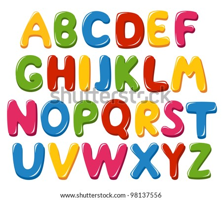 Alphabet Letters Vector Stock Images, Royalty-Free Images ...