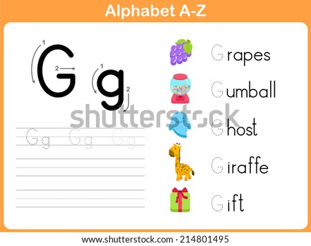 A To Z Alphabets With Pictures Worksheet