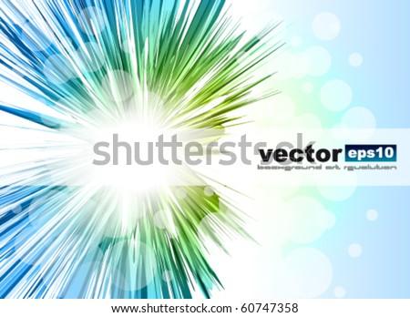 Amazing Rainbow Stars Background for Business Stylish Flyers - stock vector