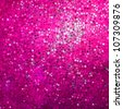 Amazing template design on pink glittering background. EPS 8 vector file included - stock photo
