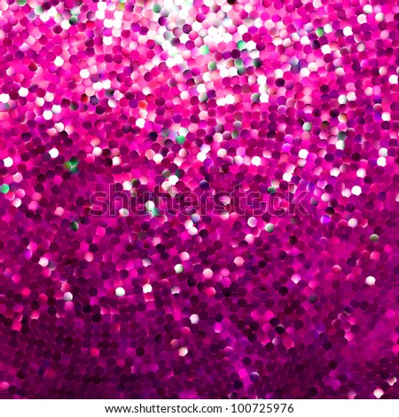 Amazing template design on pink glittering background. EPS 8 vector file included - stock vector