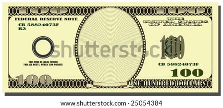 American dollar. - stock vector