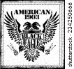 American Eagle Vector Graphic Design  - stock vector