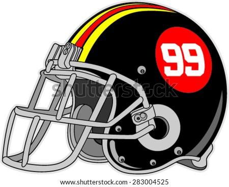american football helmet vector illustration stock photo photo rh shutterstock com