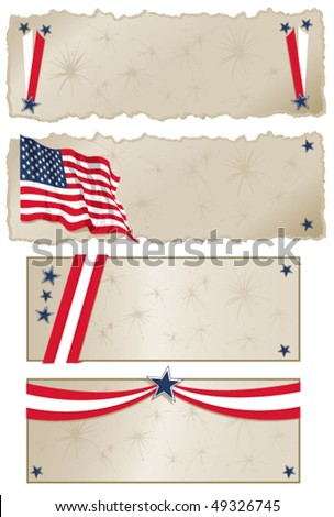 Americana Banners - Click on my portfolio for more Americana images
