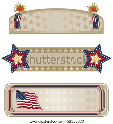 Americana Banners More