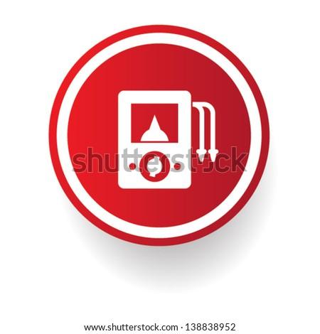 Ampere Meter Signvector Stock Vector 138838952 - Shutterstock