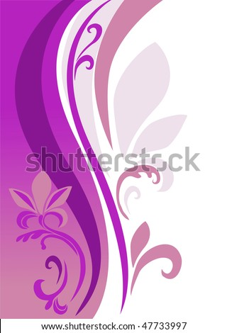 an abstract background is in pink-violet tones - stock vector