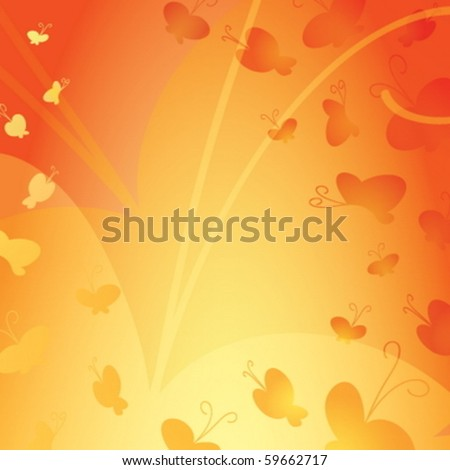 An abstract butterfly background
