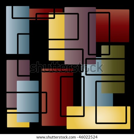 an abstract geometric background illustration