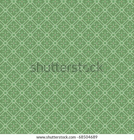 An intricate middle -eastern vector pattern - stock vector