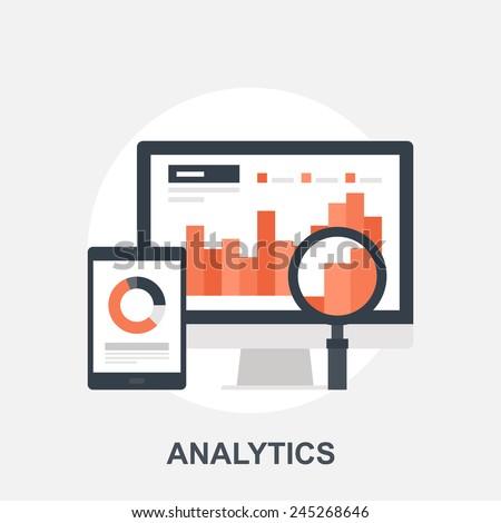 Analytics - stock vector