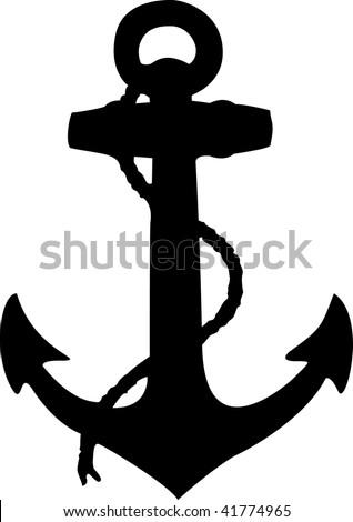 Anchor - stock vector