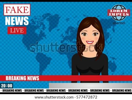 Fake exemplary news report