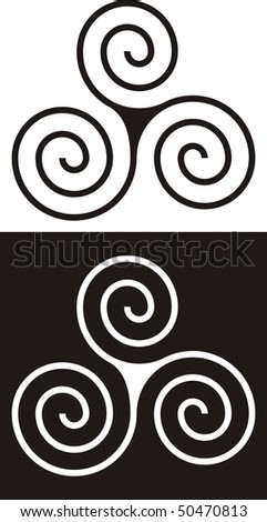 Ancient Celtic design - stock vector