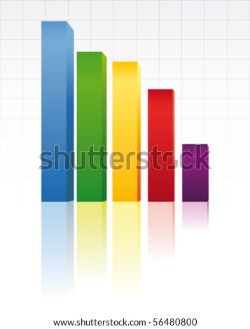 and up we go 2 - stock vector