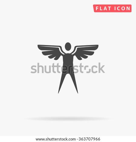Angel Icon Vector. Angel Icon JPEG. Angel Icon Object. Angel Icon Picture. Angel Icon Image. Angel Icon Graphic. Angel Icon Art. Angel Icon JPG. Angel Icon EPS. Angel Icon AI. Angel Icon Drawing - stock vector