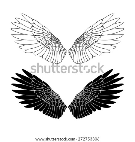 Angel's Wings vector illustration