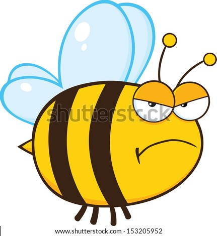 angry bumblebee cartoon - photo #19