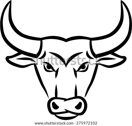 Bull Head Drawing Realistic | www.pixshark.com - Images ...