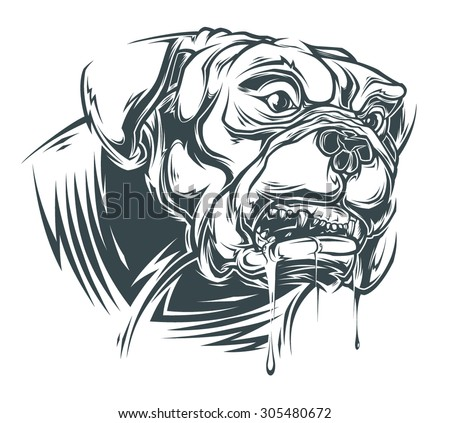 Institutionalized Straight Jacket Shrug by Angry Girl Gear ...  |Angry Pitbull Drawings Straight Jacket