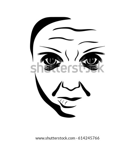 Jolly besides Joker moreover Stylized Man Face Silhouetted Head Vector 359329655 additionally Joker together with Joker. on scary bald clown