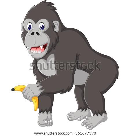 Angry Gorilla Cartoon 스톡 벡터 361677398 - Shutterstock - photo#10