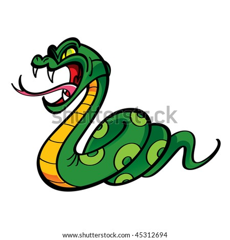 The gallery for --> Mean Cartoon Snake