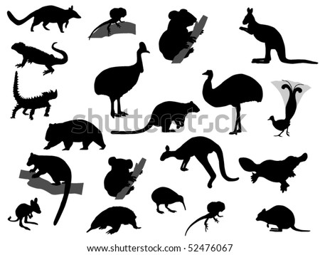 animal - stock vector