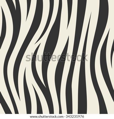 Animal abstract skin monochrome seamless pattern. Vector.