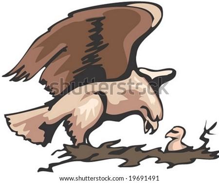 Animal Character - stock vector