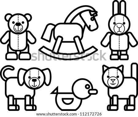 animal icon design, vector illustration