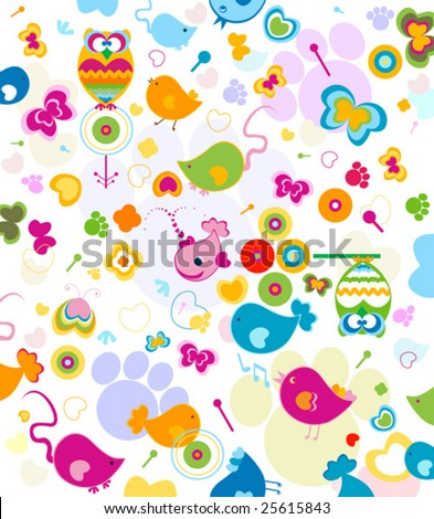 animals seamless pattern
