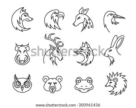 Animals Vector Set - stock vector