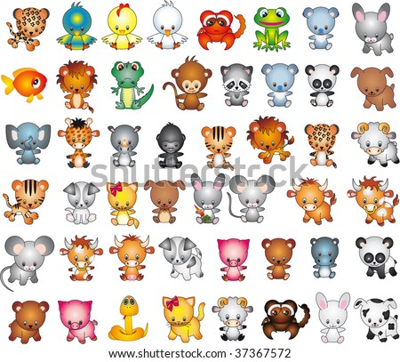 Animals vector vol_7 - stock vector