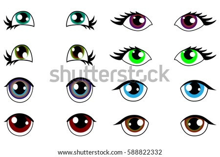Anime Eyes Stock Images Royalty Free Images Amp Vectors
