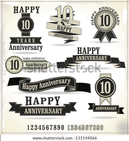 anniversary logo vector - photo #26