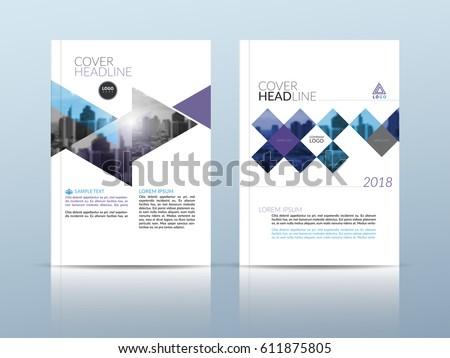 annual report cover page design