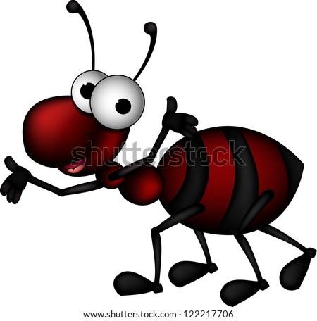 Cartoon black ants - photo#37
