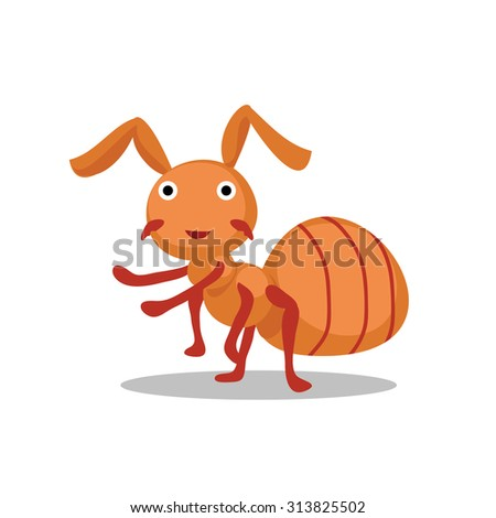ant cartoon character