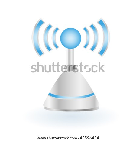 Antenna - stock vector