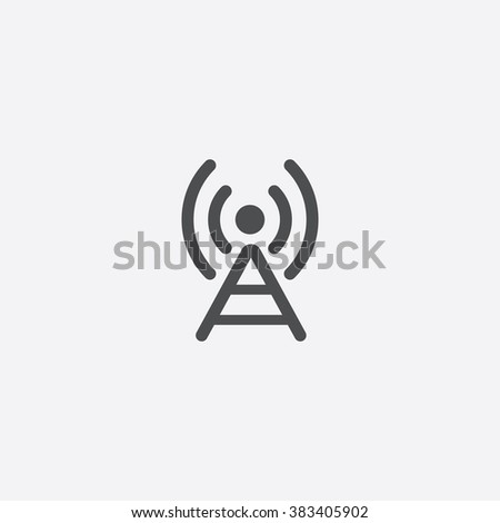 antenna Icon. antenna Icon Vector. antenna Icon Art. antenna Icon eps. antenna Icon Image. antenna Icon logo. antenna Icon Sign. antenna Icon Flat. antenna Icon web. antenna icon app. antenna icon UI - stock vector