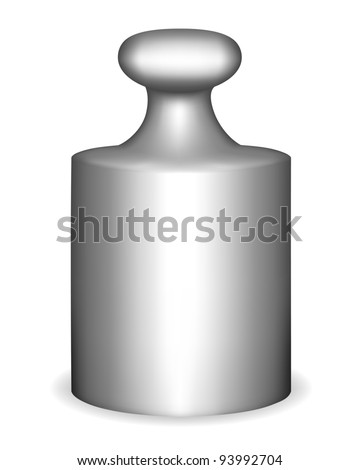 Antique calibration weight vector