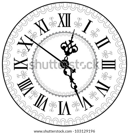 Old Clock Stock Photos Images Amp Pictures Shutterstock