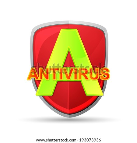 antivirus icon - stock vector